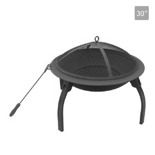 30 Inch Portable Fire Pit