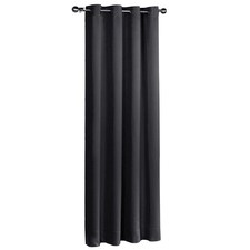 Art Queen 3 Pass Eyelet 260 GSM Blackout Curtains (Set of 2)