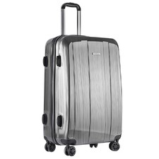 Grey Hard Shell Travel Luggage