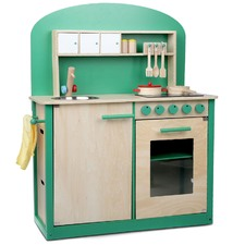 Kids Wooden 8 Piece Kitchen Play Set