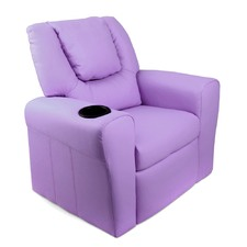 Purple Kids Recliner
