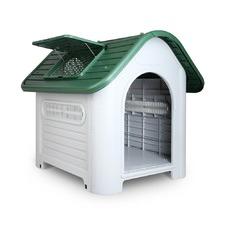 Medium Green Dog Kennel