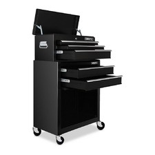 Black 7 Drawer Toolbox