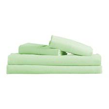 Green Microfibre Sheet Set