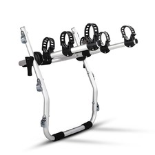 Foldable Aluminium Strap-On 3 Bike Car Carrier Rack