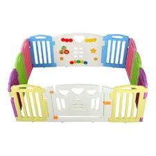 12 Panels Interactive Baby Playpen