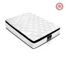 Latex Pillow Top Pocket Spring Mattress Queen