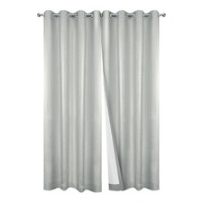 Blackout Eyelet Curtains (Set of 2)