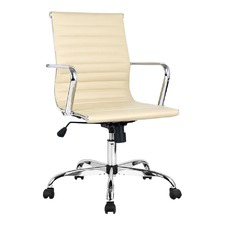 Replica Eames PU Leather Office Chair
