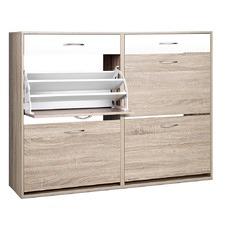 2 Tier Multi Shoe Cabinet