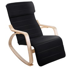 Ashley Plywood Adjustable Rocking Recliner Chair