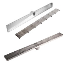 Heelguard Stainless Steel Shower Grate Drain Floor