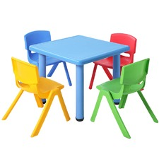 5 Piece Kids' Table & Chairs Play Set