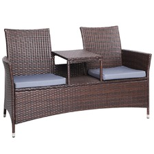 2 Seater Bench & Table Set