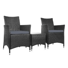 2 Seater Outdoor Chair & Coffee Table Set