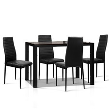 4 Seater Dining Table & Chairs Set