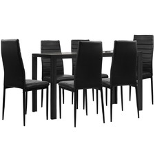 6 Seater Dining Table & Chairs Set