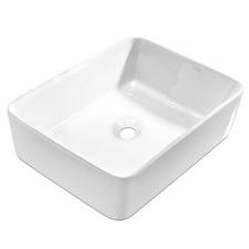 Rectangular Palamidas Ceramic Sink Bowl