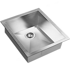 Satin Coated Stainless Steel Sink