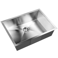 Silver Anti-Vibration Stainless Steel Sink