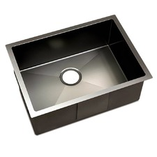 Black Anti-Vibration Stainless Steel Sink