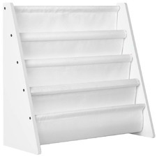 Kids' Flat Tiered Bookshelf