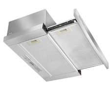 Argent Retractable Stainless Steel Kitchen Range Hood