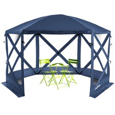 Blue Flexion Canvas Gazebo