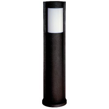 Oki Bollard Outdoor Light in Black