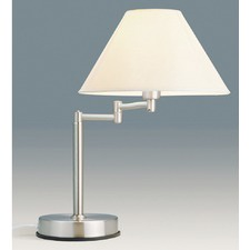 Zoe Touch Lamp in Brushed Chrome