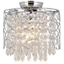 Valentia Crystal Batten Fix Ceiling Light
