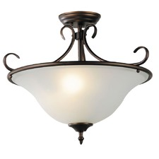 Sciacca Glass Flush Mount Light