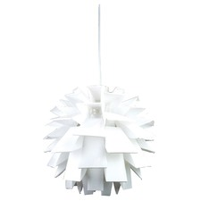 Artichoke Firenze Pendant in White