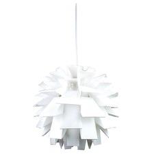 White Crotone Firenze Pendant Light