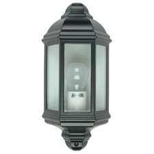 Black Civitanova Metal Outdoor Wall Light