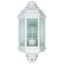 White Civitanova Metal Outdoor Wall Light