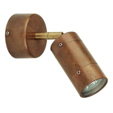 Comma 1 Light Adjustable Wall Sconces in Copper