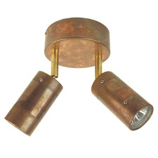 Comma 2 Light Adjustable Spot Light in Copper