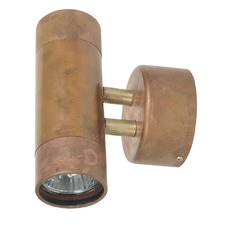 Copper Sora 2 Light Metal Wall Sconce