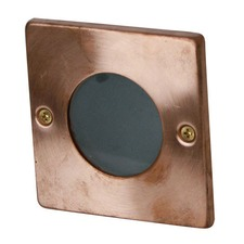 Rocco Square Recessed Light in Copper