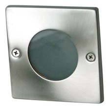 Rocco Square Recessed Light in Stainless Steel