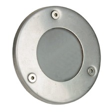 Rocco Plain LV Exterior Recessed Light in Stainless Steel