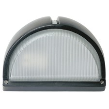 Cheval Exterior Cast Bunker Fitting Light in Black