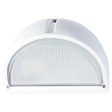 Cheval Exterior Cast Bunker Fitting Light in White