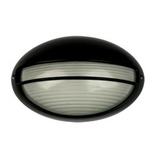 Galaxy Small Exterior Bunker Solid Eye Light in Black