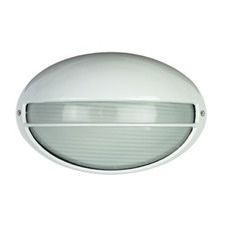Galaxy Small Exterior Bunker Solid Eye Light in White