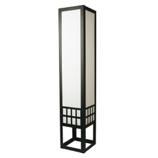 Sojo Floor Lamp in Black with Card Insert