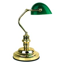 Banker's Touch Lamp