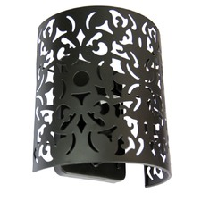 Vicky Wall Light in Matt Black