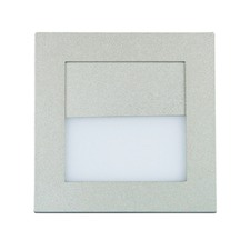 Pura Recessed 90 LED Wall Light in Silver